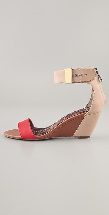 Sam Edelman Sophie Low Wedge Sandals