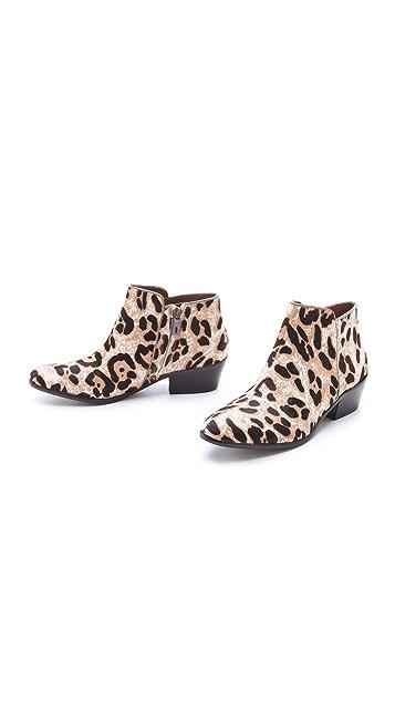 Sam Edelman Petty Snow Leopard Booties