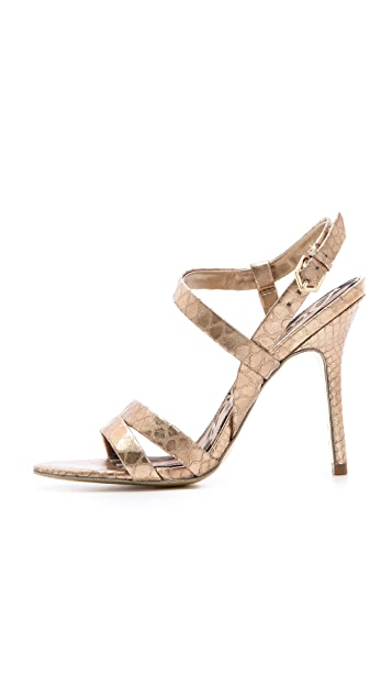 Sam Edelman Abbott Metallic Sandals