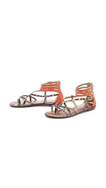 Sam Edelman Gable Strappy Flat Sandals