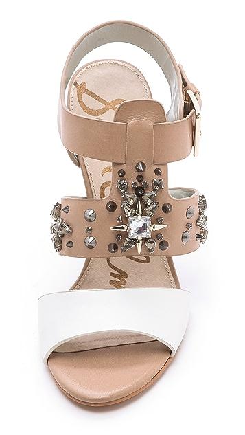 Sam Edelman Yara Chunky Heel Sandals
