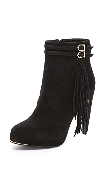 Sam Edelman Keegan Fringe Booties