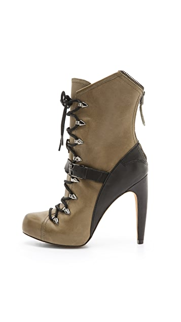 Sam Edelman Knox Lace Up Booties