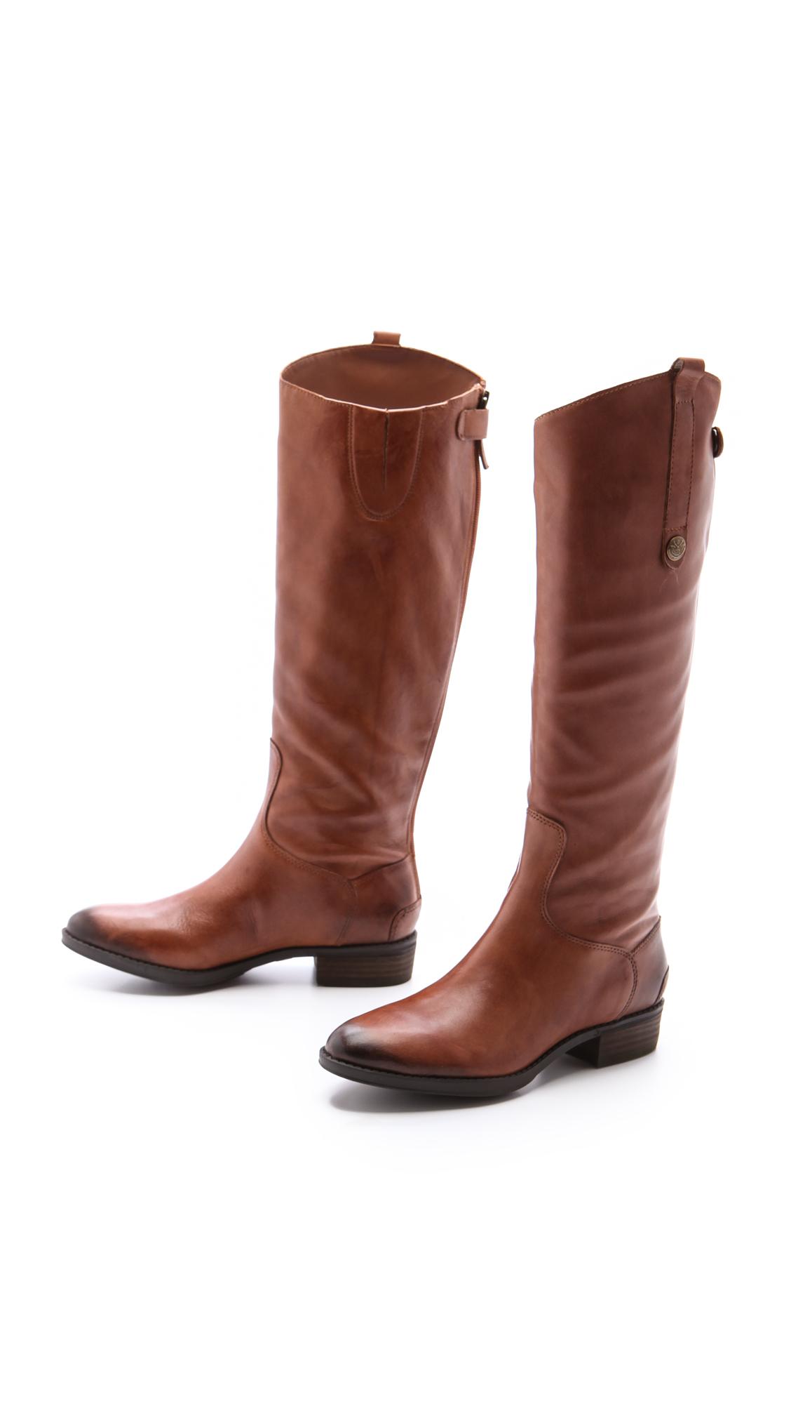 ada63fa27 Sam Edelman Penny Tall Flat Boots