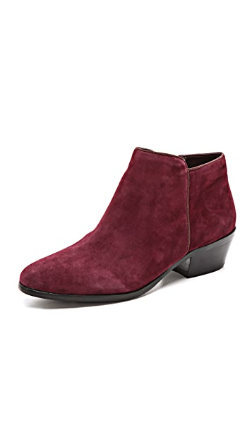 Sam Edelman Petty Short Suede Booties