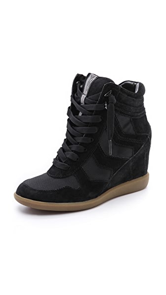 Sam Edelman Suede Bennett Wedge Sneakers