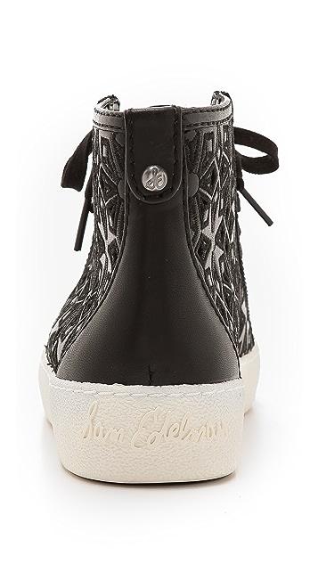 Sam Edelman Branson Perforated Sneakers