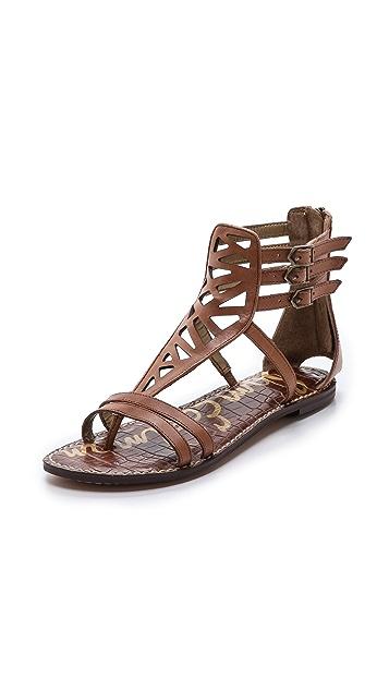 Sam Edelman Georgia Cutout Flat Sandals