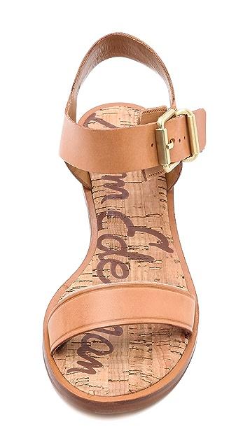 Sam Edelman Trina Low Heel Sandals