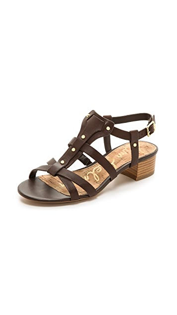 Sam Edelman Angela Low Heel Sandals
