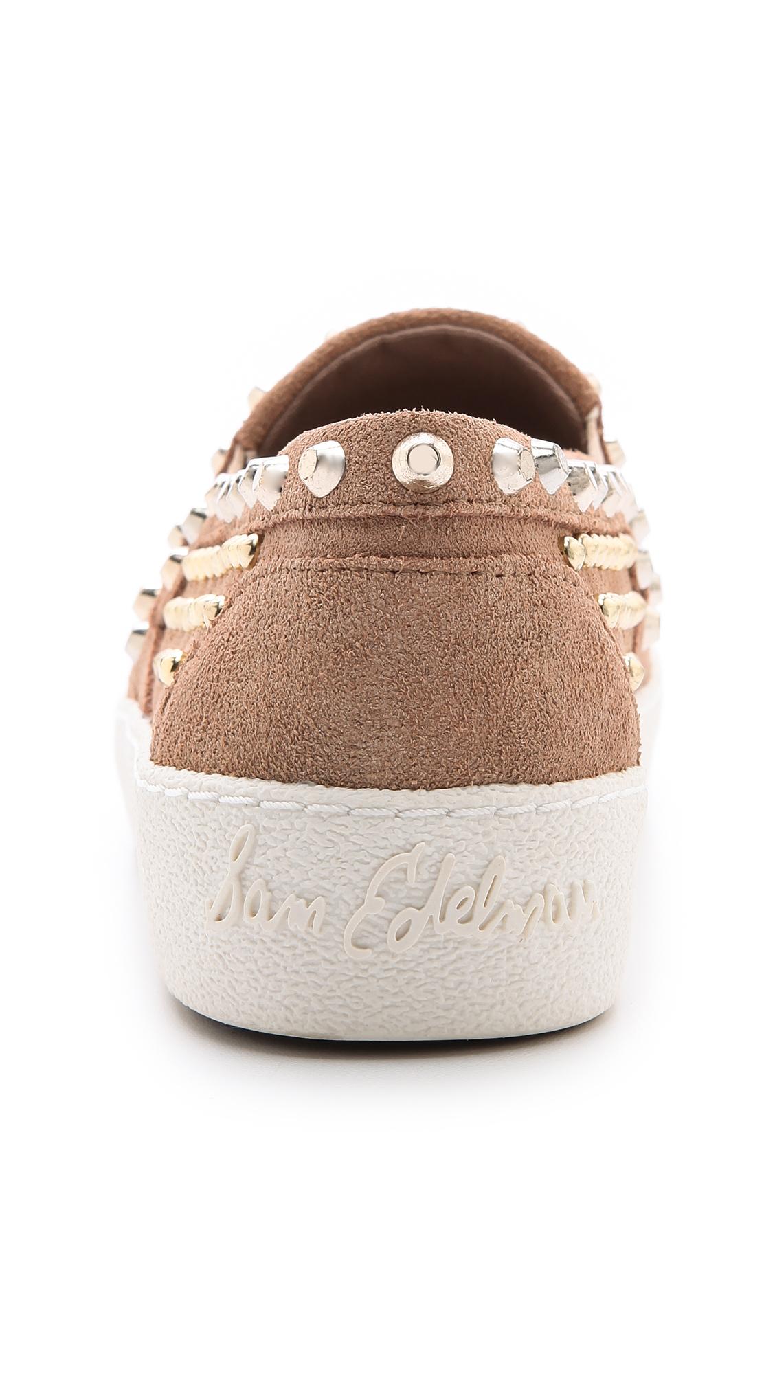 7e400cd1e2b199 Sam Edelman Braxton Studded Slip On Sneakers