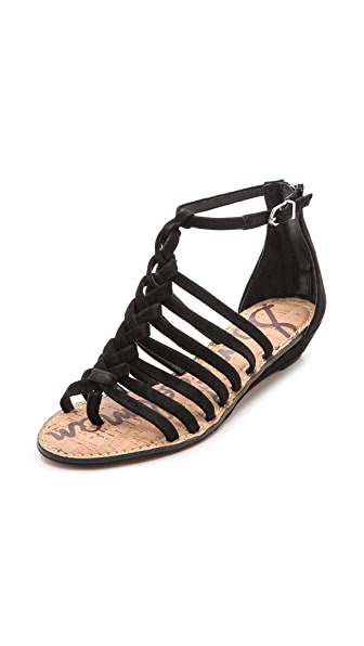 Sam Edelman Dakota Braided Wedges
