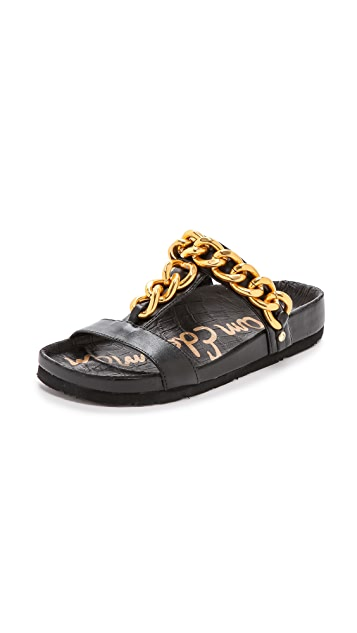 Sam Edelman Allyn Chain Trim Sandals