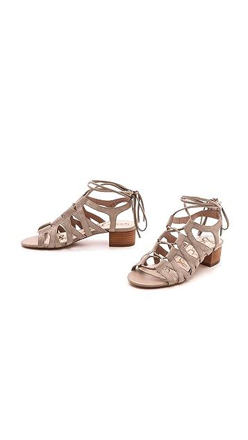 Sam Edelman Ardella Low Heel Sandals