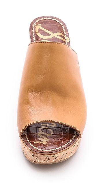 Sam Edelman Remington Cork Wedge Sandals