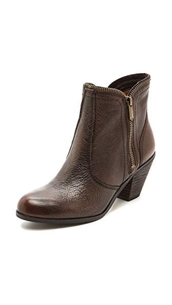 Sam Edelman Linden Zipper Trim Booties