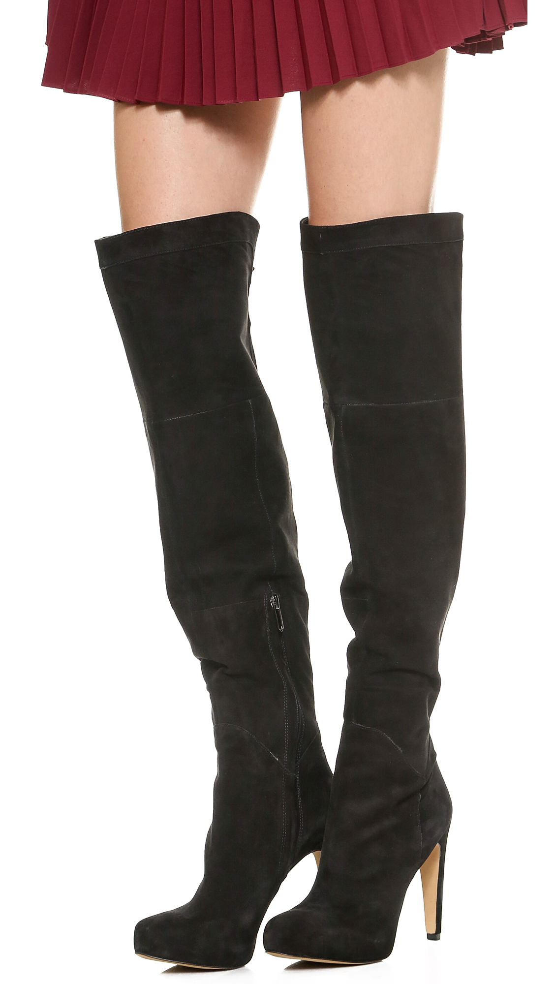 1b7cb5702f0aa Sam Edelman Kayla Suede Over the Knee Boots