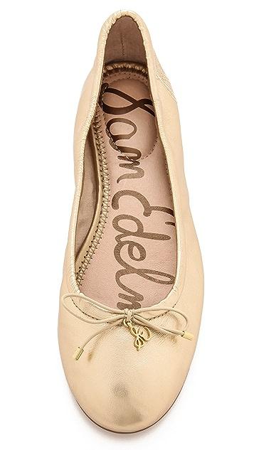 Sam Edelman Felicia Metallic Ballet Flats