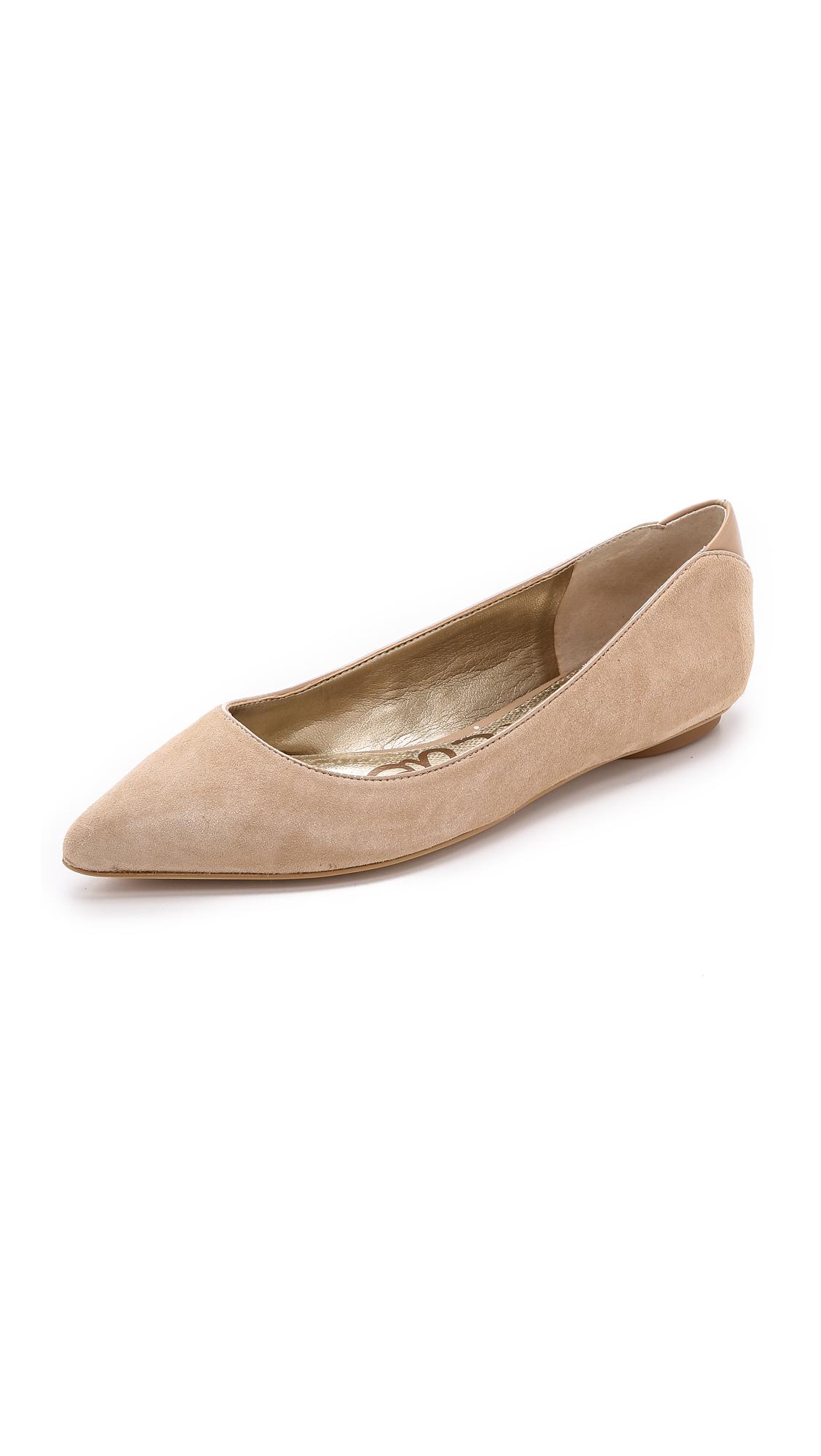 09762a85fd9fbb Sam Edelman Colleen Suede Ballet Flats