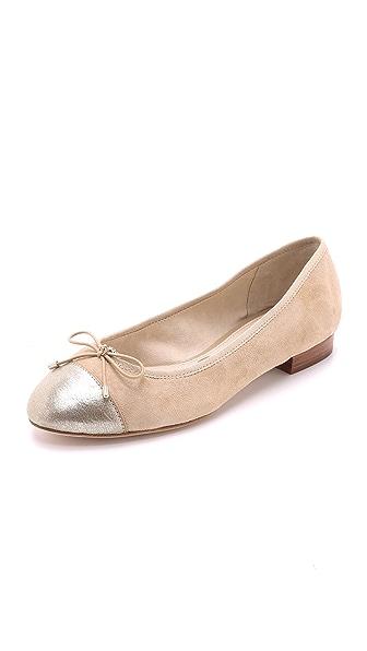 Sam Edelman Bev Cap Toe Ballet Flats