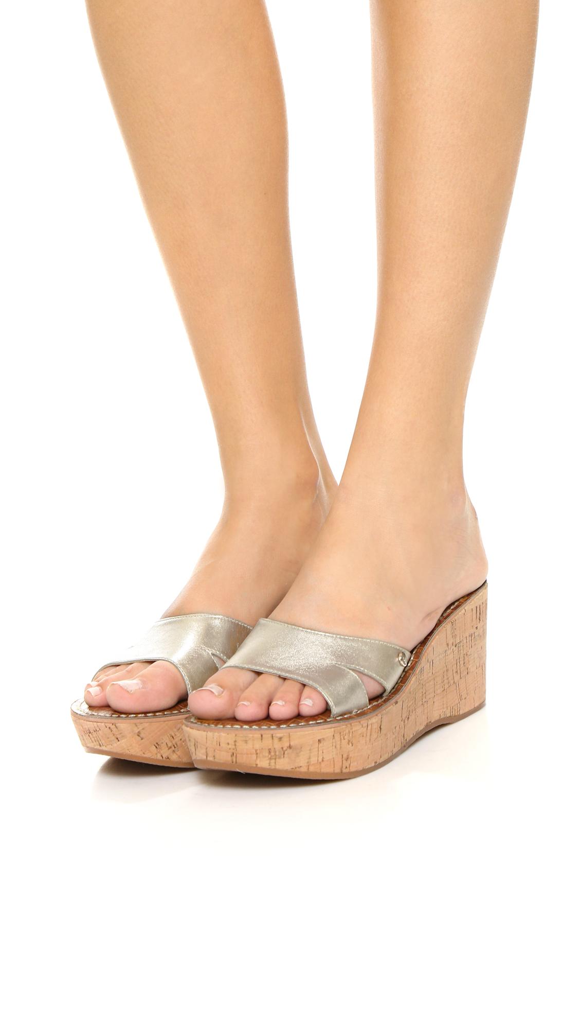 d30f19b036d5 Sam Edelman Reid Wedge Sandals