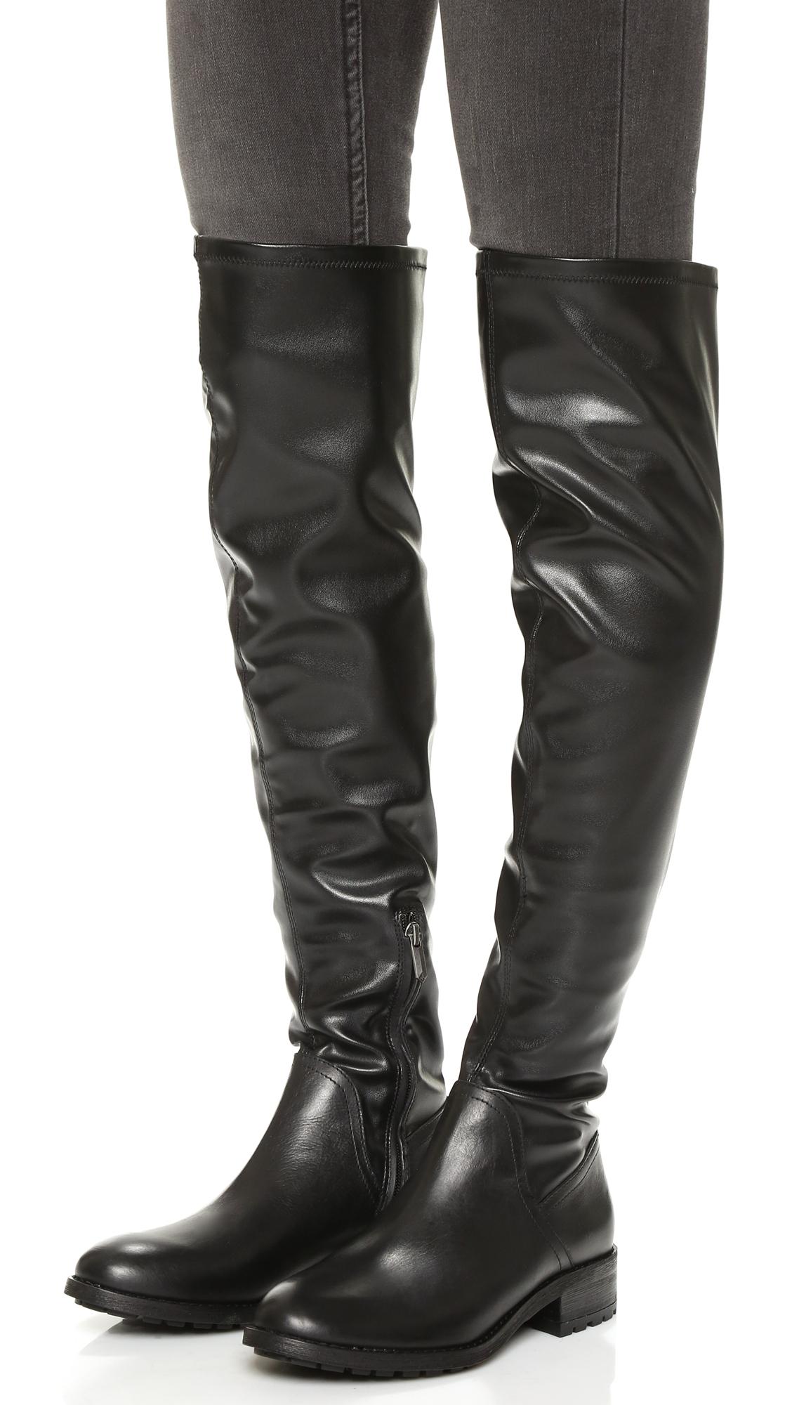 Womens Boots Sam Edelman Remi Black Leather