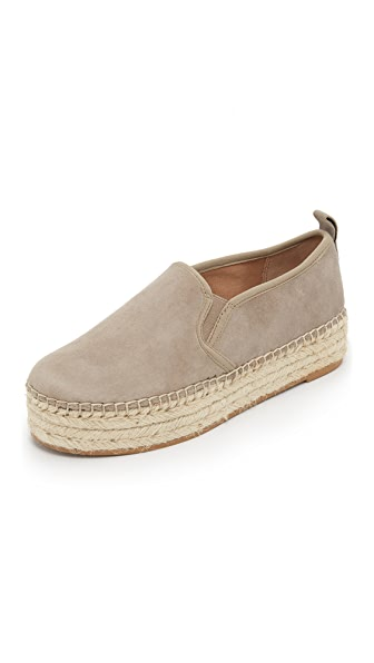 Sam Edelman Carrin Platform Espadrilles - Putty