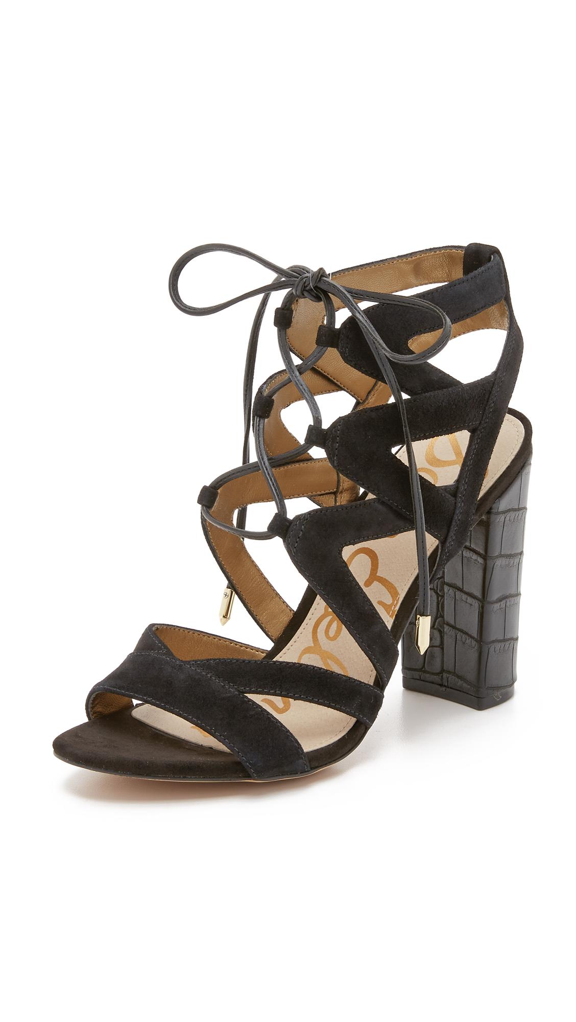 d64f9823ab57 Sam Edelman Yardley Lace Up Sandals
