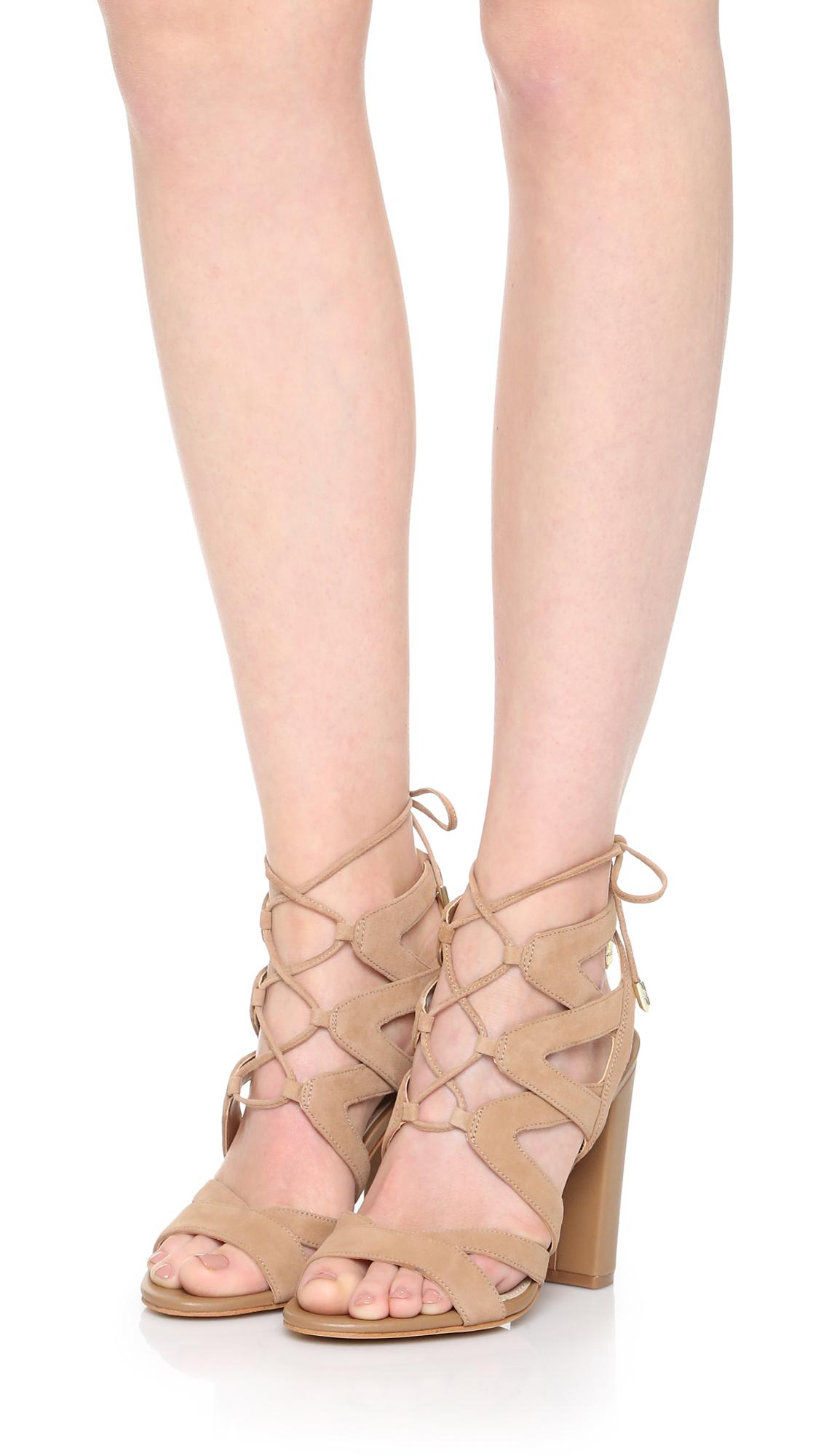 cec706548b6f Sam Edelman Yardley Lace Up Sandals