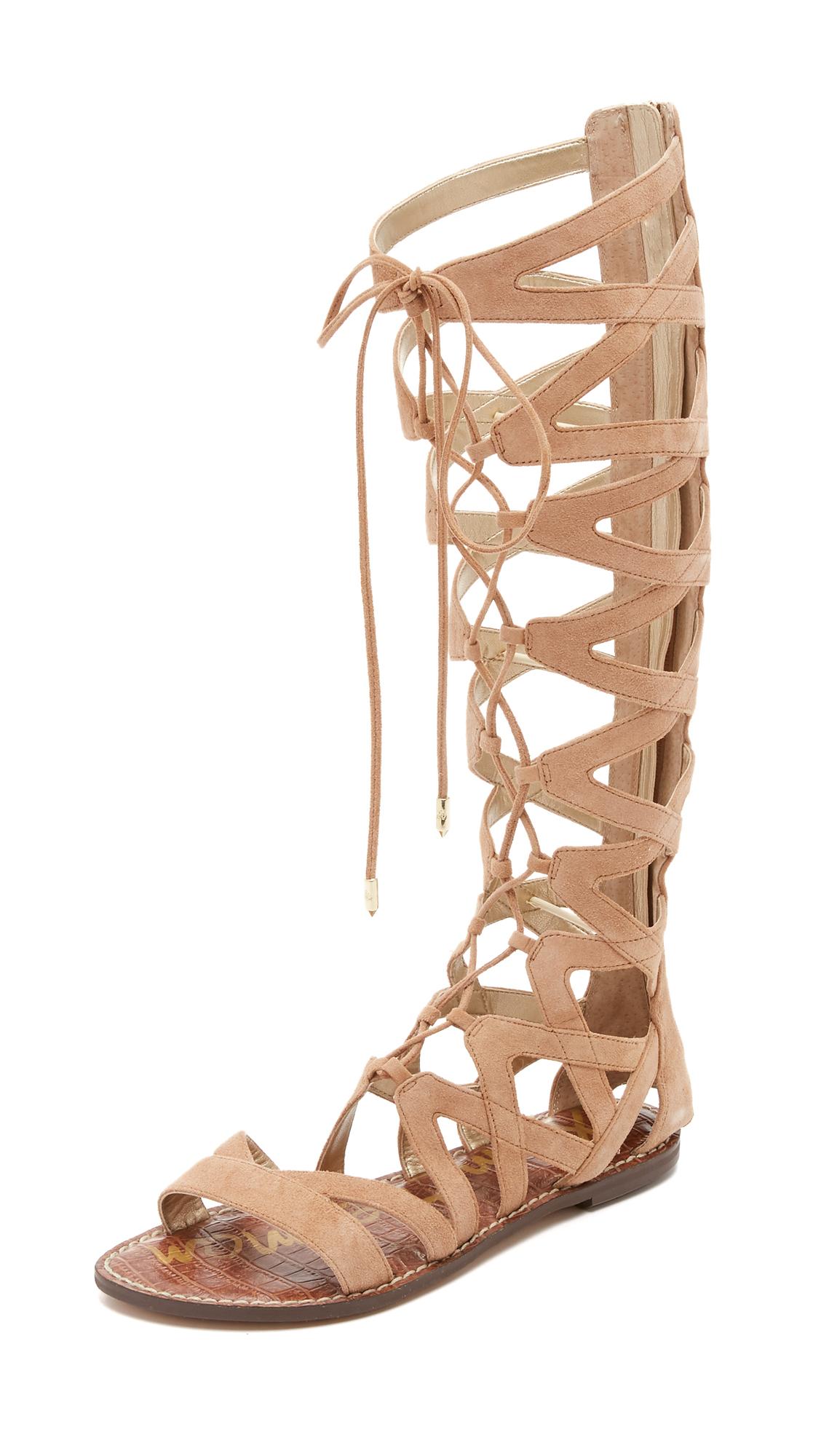 791d52c528dd Sam Edelman Gena Tall Gladiator Sandals on PopScreen