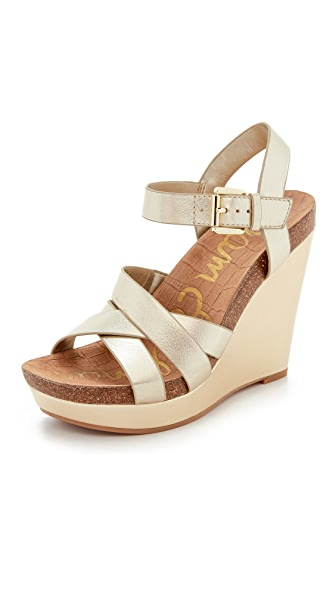 Sam Edelman Nelson Wedge Sandals