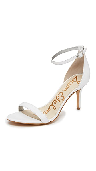 Sam Edelman Patti Sandals - White