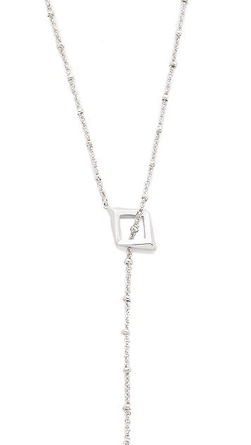 Sam Edelman Y Lariat Necklace