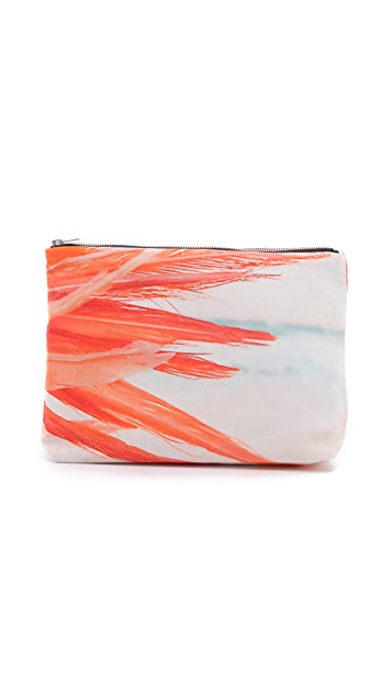Samudra Feather & Sea Pouch