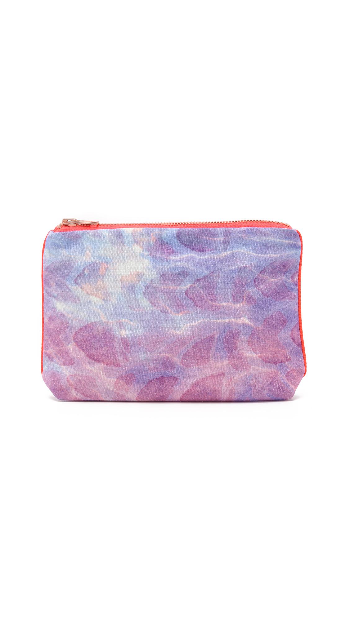 samudra female samudra baby pouch purple shell