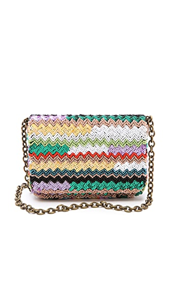 Santi Sequin & Beaded Clutch