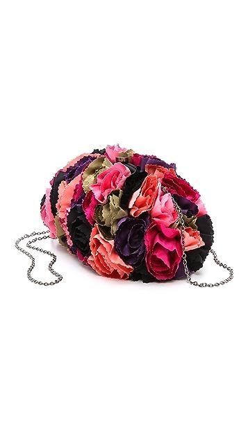 Santi Flower Clutch