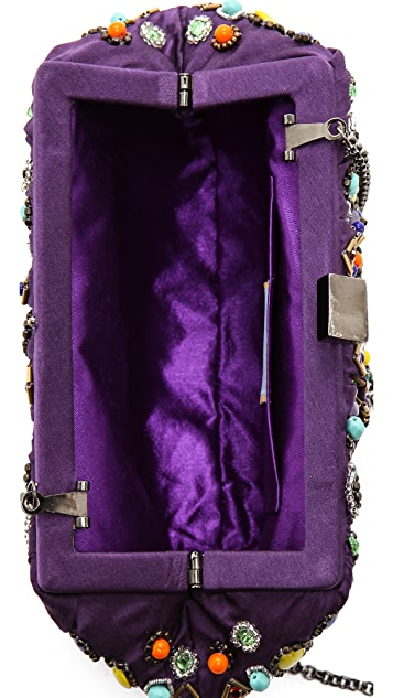 Santi Jeweled Clutch