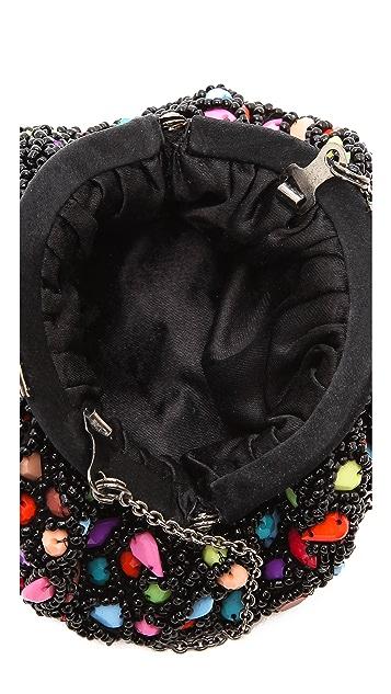 Santi Jeweled Multi Color Clutch