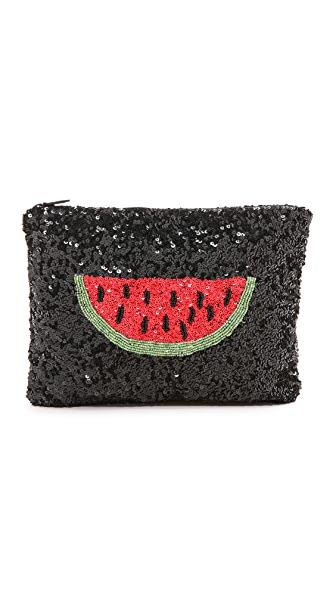 Santi Watermelon Clutch