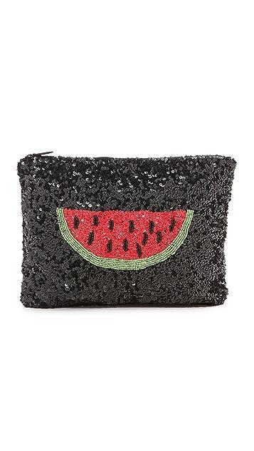 Santi Watermelon Clutch
