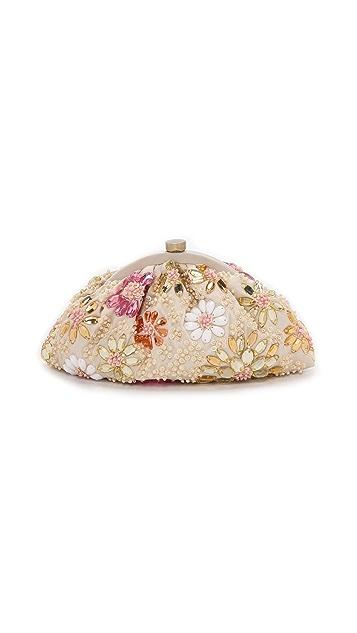 Santi Flower Embellished Clutch