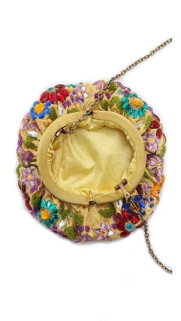 Santi Jeweled Flower Clutch