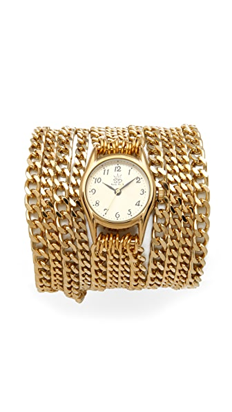 Sara Designs Small All Chain Watch