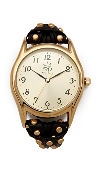 Sara Designs NW Studded Watch