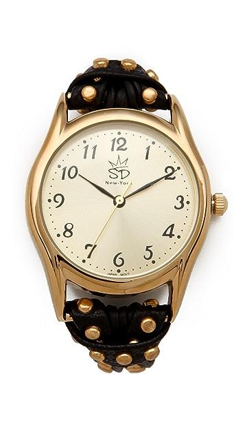 Sara Designs NW Studded Watch