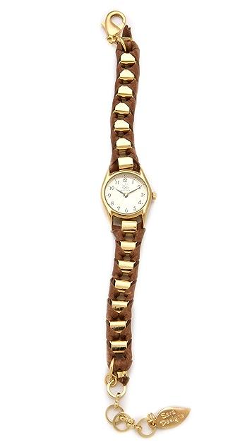 Sara Designs NY Box Chain Watch