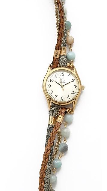 Sara Designs Agate Watch