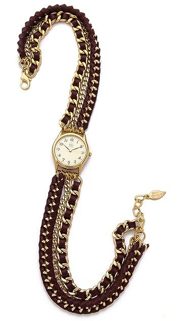 Sara Designs Woven Wrap Watch