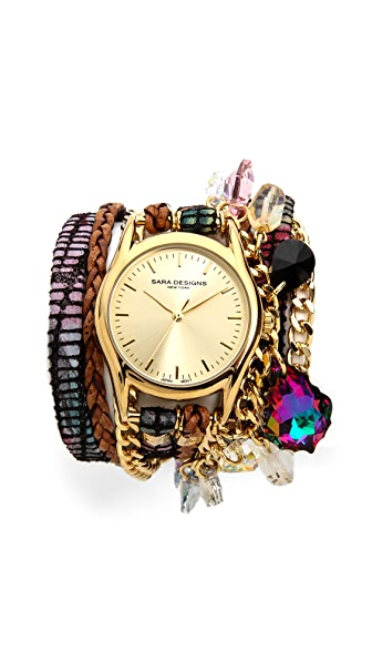 Sara Designs Candy Wrap Watch